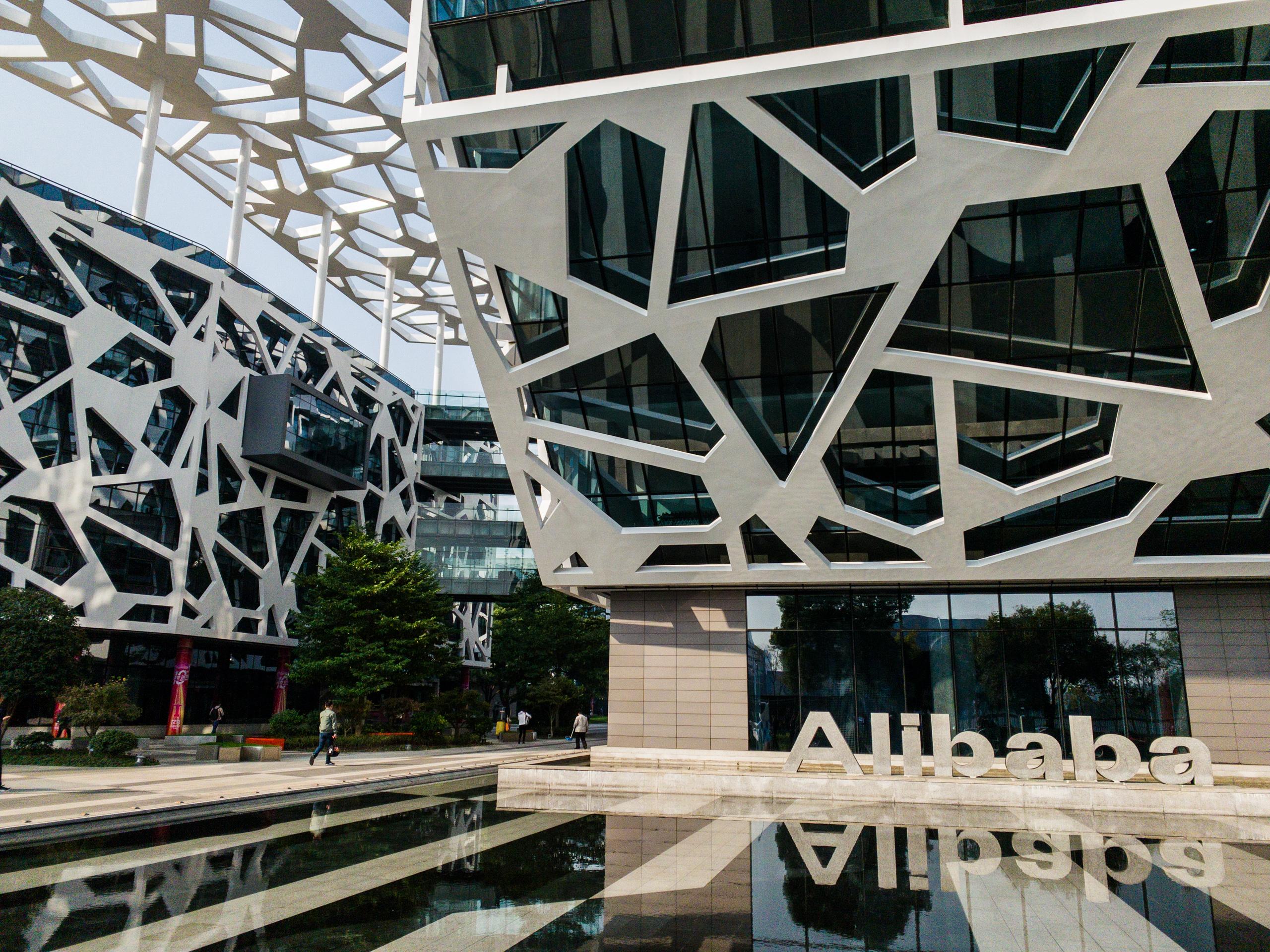 Crise não afeta Grupo Alibaba